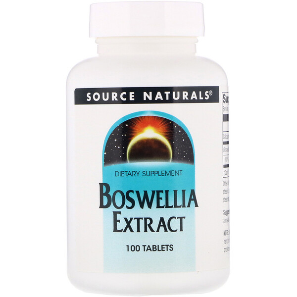 Boswellia Extract, 100 Tablets