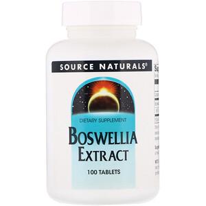 Сорс Начэралс, Boswellia Extract, 100 Tablets отзывы покупателей