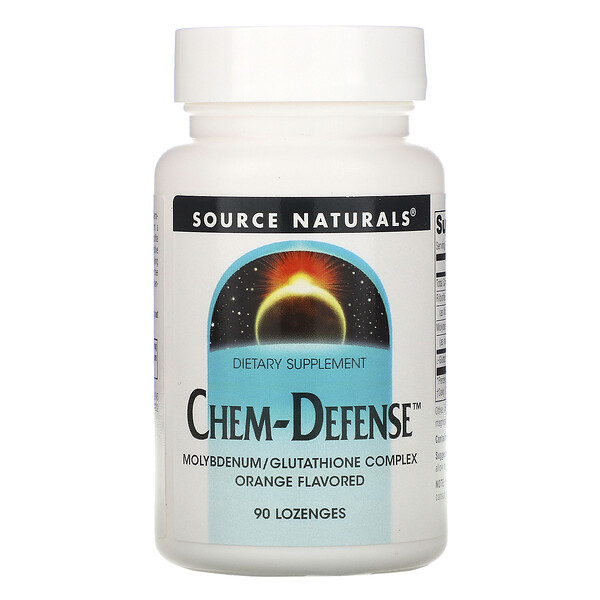 Source Naturals, Chem-Defense, Orange, 90 Lozenges
