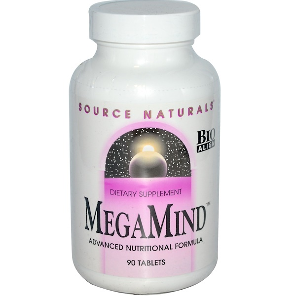 Source Naturals, MegaMind, 90 Tablets (Discontinued Item)