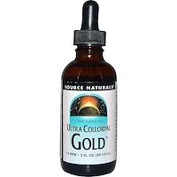 Ультра коллоидное золото 10 мг/л, 2 жидких унции (59,14 мл) - фото
