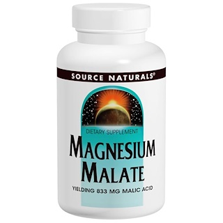 Source Naturals, Magnesium Malate, 180개 정