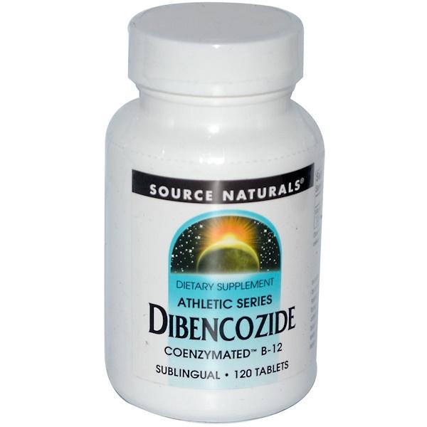 Source Naturals, Dibencozide, Coenzymated B-12, Sublingual, 120 Tablets (Discontinued Item)