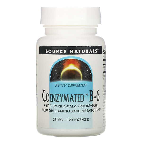 Coenzymated B-6, 25 mg, 120 Lozenges
