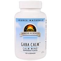 Успокоительное средство GABA Calm с мятным вкусом, 120 пастилок - фото