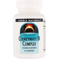 Комплекс витаминов B Coenzymate, апельсиновый вкус, 60 леденцов - фото