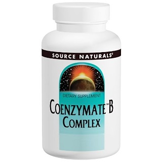 Source Naturals, Coenzymate B Complex, Orange Flavored Sublingual, 60 Tablets