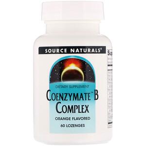 Сорс Начэралс, Coenzymate B Complex, Orange Flavored, 60 Lozenges отзывы покупателей