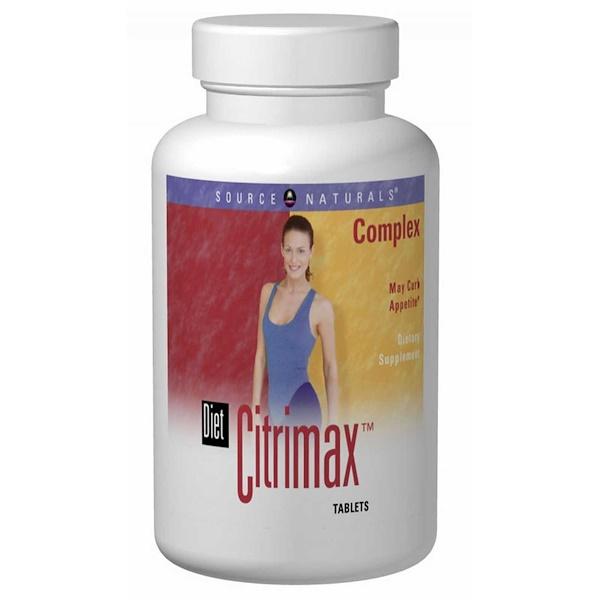 Source Naturals, Diet Citrimax Complex, 120 Tablets (Discontinued Item)