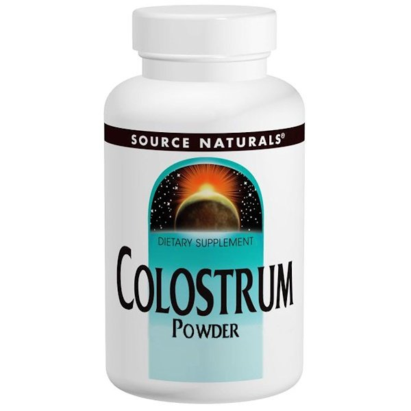 Source Naturals, Colostrum Powder, 4 oz (113.4 g) (Discontinued Item)