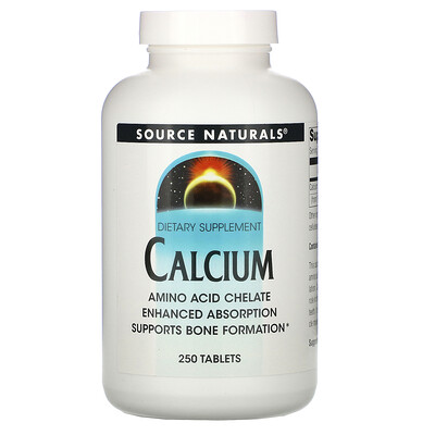 Купить Source Naturals кальций, 250таблеток