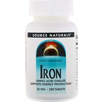 Железо, 25 мг, 250 таблеток - фото