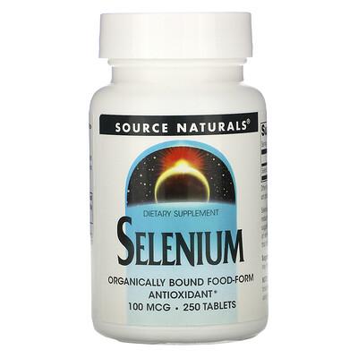 Купить Source Naturals Селен, 100 мкг, 250 таблеток