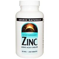 Цинк, 50 мг, 250 таблеток - фото