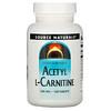 Source Naturals, Acetil L-Carnitina, 500 mg, 120 Tabletas