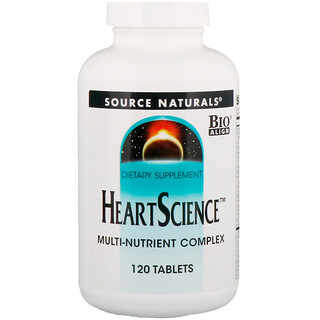 Source Naturals, Heart Science, Multi-Nutrient Complex, 120 Tablets