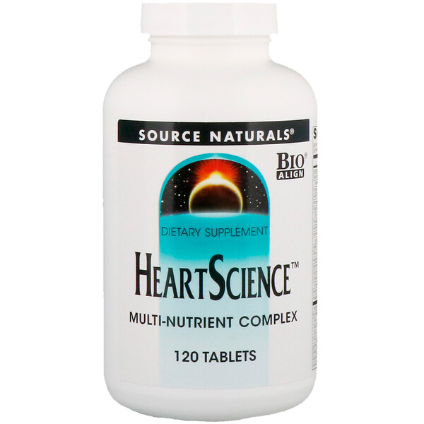 Heart Science, Multi-Nutrient Complex, 120 Tablets