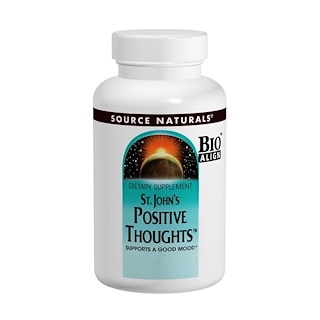 Source Naturals, St. John's Positive Gedanken, 45 Tabletten