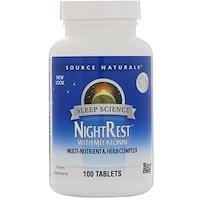 NightRest с мелатонином, 100таблеток - фото
