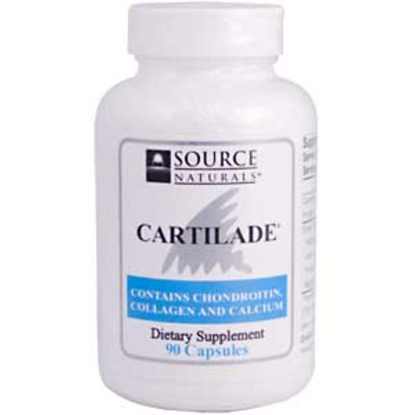 Source Naturals, Cartilade, 90 Capsules (Discontinued Item)