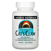 Source Naturals, Растение кошачий коготь, 500 мг, 120 таблеток