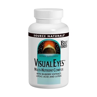Source Naturals, Visual Eyes, Completo multinutrientes, 90 tabletes