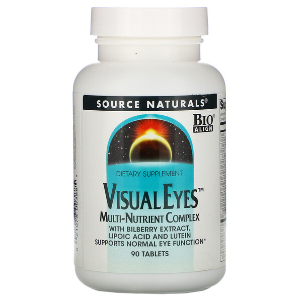 Visual Eyes, Multi-Nutrient Complex, 90 Tablets