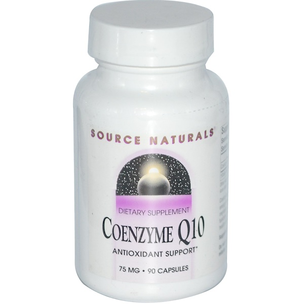 Source Naturals, Coenzyme Q10, 75 mg, 90 Capsules (Discontinued Item)