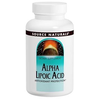 Source Naturals, Alpha Liponsäure, 200 mg, 120 Tabletten