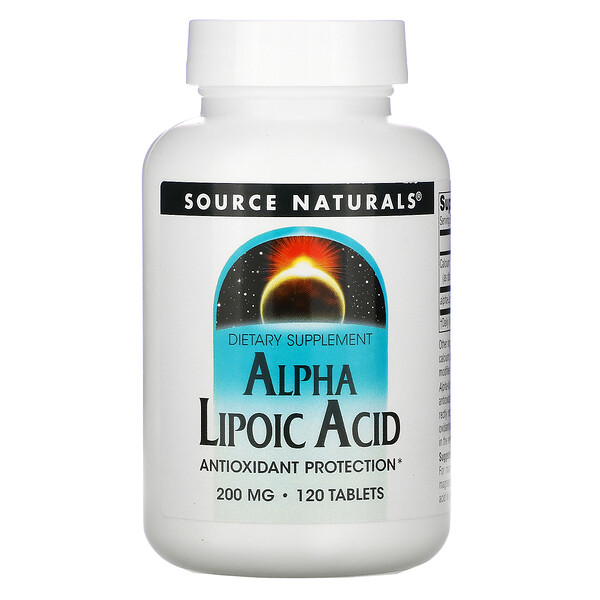 Alpha Liponsäure, 200 mg, 120 Tabletten