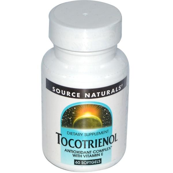 Source Naturals, Tocotrienol, 60 Softgels (Discontinued Item)