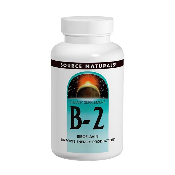 Source Naturals, B-2, 100 mg, 250 Tablets (Discontinued Item)