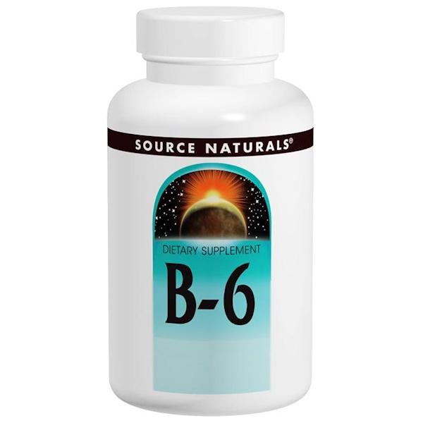 B-6, 100 mg, 100 정