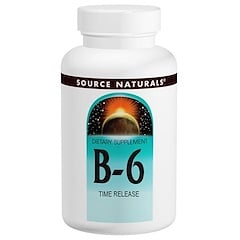 Source Naturals, B-6, 500 mg, 100 錠