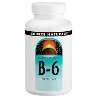 Source Naturals, B-6, 500 mg, 100 Tabletten