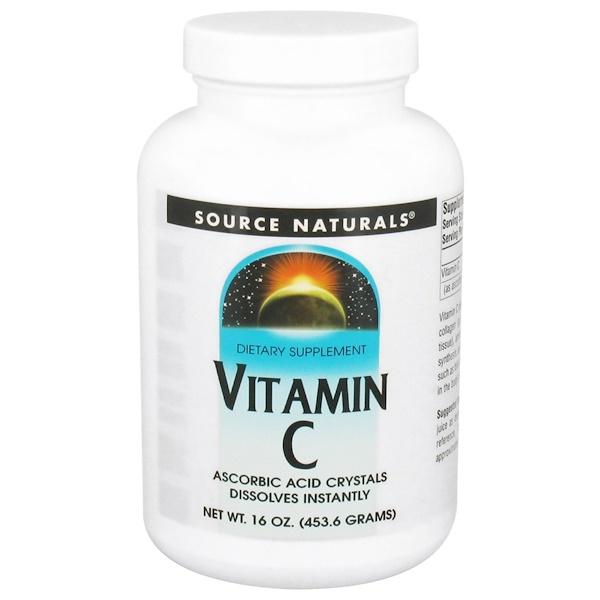 Source Naturals, Vitamin C, 16 oz (453.6 g) (Discontinued Item)