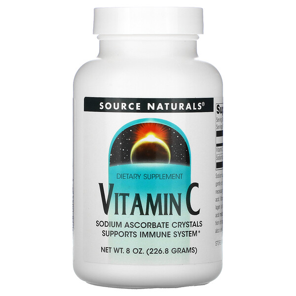 Source Naturals, Vitamin C, 8 oz (226.8 g)