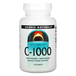 Source Naturals, C-1000, 100 Comprimidos