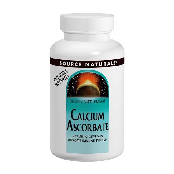 Source Naturals, Calcium Ascorbate, 8 oz (226.8 g)