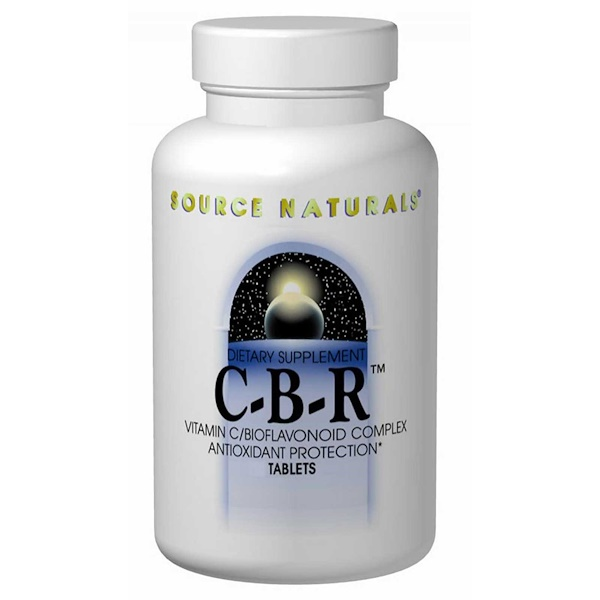 Source Naturals, C-B-R, 250 Tablets (Discontinued Item)