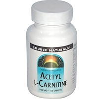 Ацетил-L-карнитин, 500 мг, 60 таблеток - фото