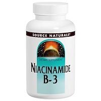 Никотинамид B-3, 100 мг, 250 таблеток - фото