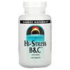 Source Naturals, Hi-Stress B&C with Herbs, 120 Tablets