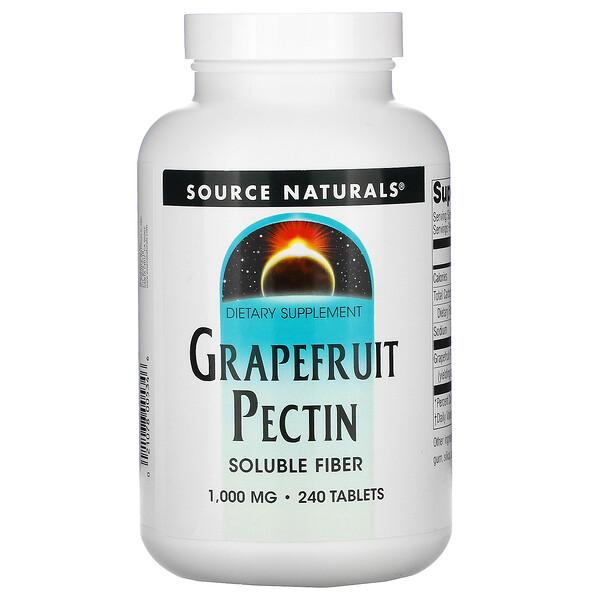 Grapefruit Pectin, 1,000 mg, 240 Tablets
