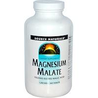Яблочнокислый магний, 1,250 мг, 360 таблеток - фото
