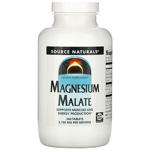 Сорс Начэралс, Magnesium Malate, 3,750 mg, 360 Tablets отзывы покупателей