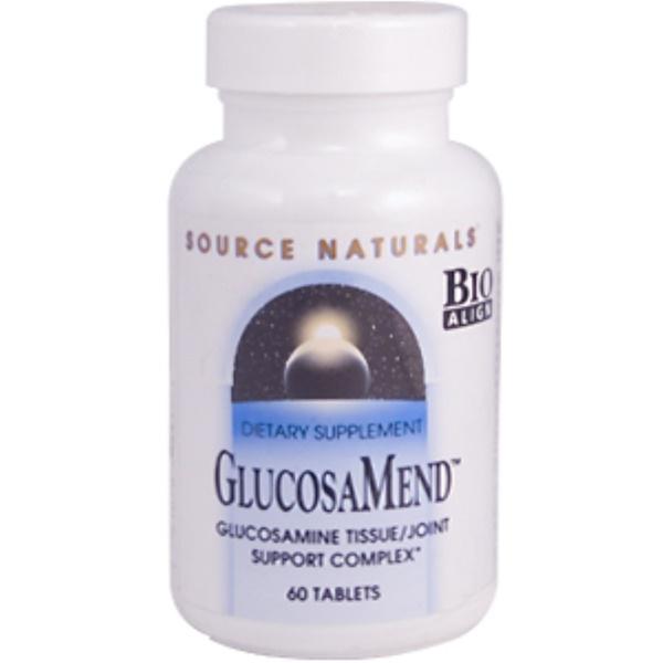 Source Naturals, GlucosaMend, 60 Tablets (Discontinued Item)