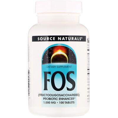 Купить ФОС (фруктоолигосахариды), 100 таблеток