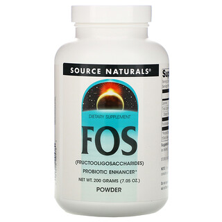 Source Naturals, FOS Powder, 7.05 oz (200 g)