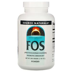 Сорс Начэралс, FOS Powder, 7.05 oz (200 g) отзывы